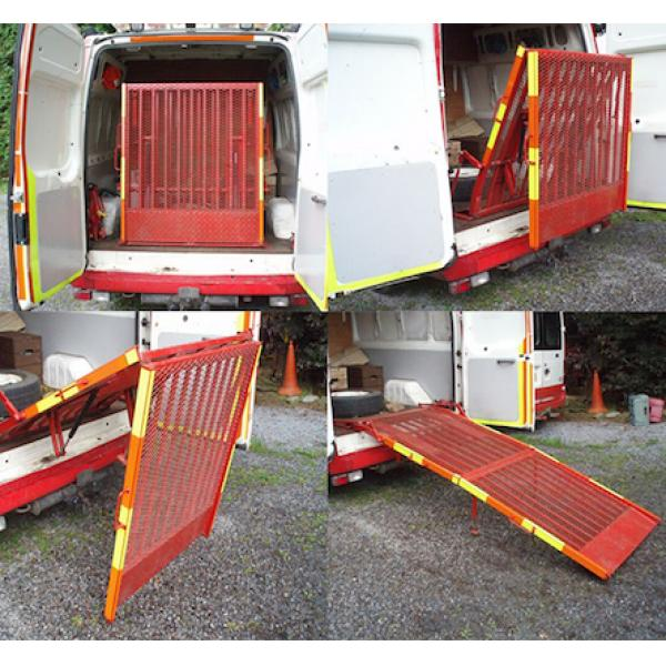 CareMax FR12580 Folding VAN ramp